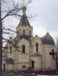 Любань. Церковь Петропавловская Lyuban. Church of SS Peter and Paul