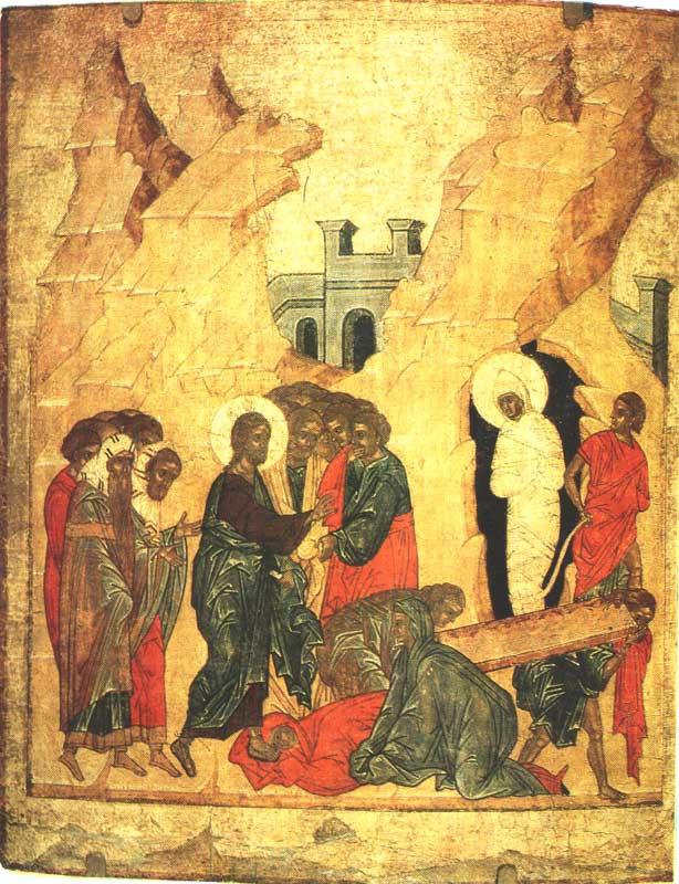 Воскрешение Лазаря Resurrection of Lazarus