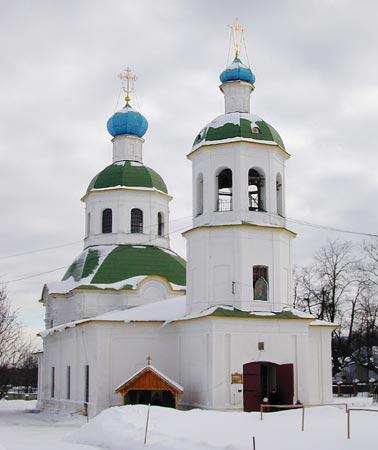 Церковь Петропавловская в Ясеневе Church of SS Peter and Paul in Yasenevo