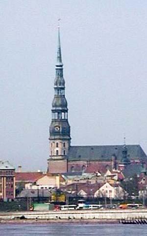 Церковь св. Петра в Риге Church of St Peter in Riga