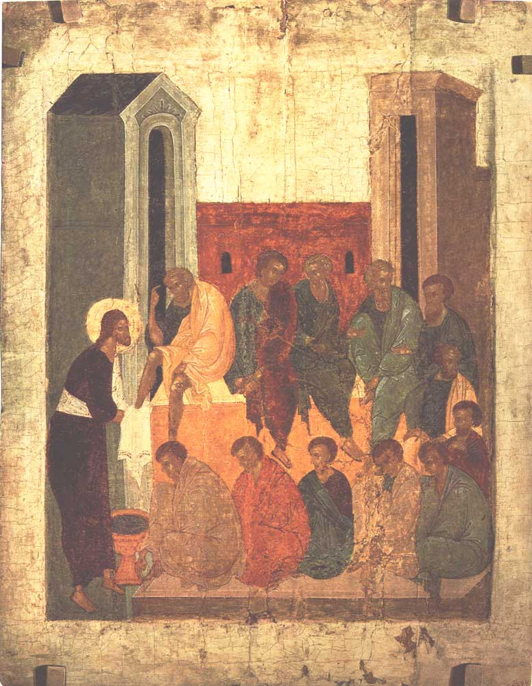Омовение ног Christ washing the feet of the disciples