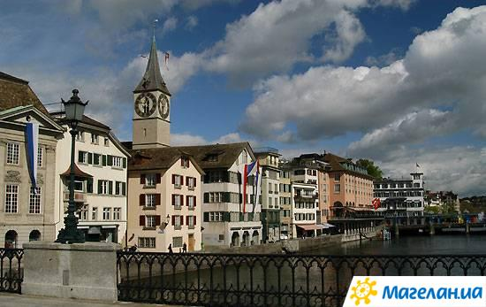 Церковь св. Петра в Цюрихе Church of St Peter in Zurich
