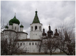 Тюмень: монастырь Св.-Троицкий Tyumen: monastery of Holy Trinity